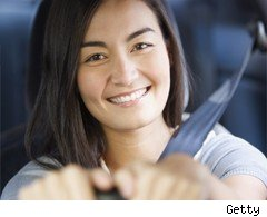 Young female drivers hit by EU ruling
