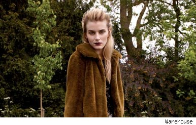 Warehouse faux fur jacket autumn fashion