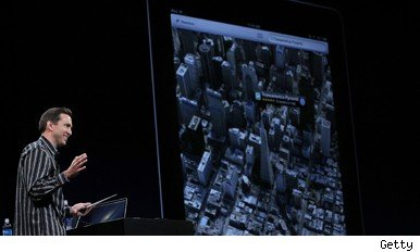Scott Forstall announces Apple's map app plans
