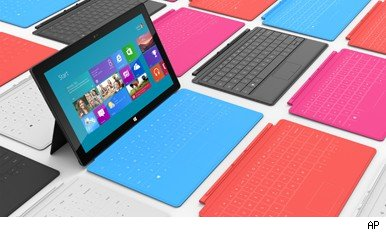Microsoft unveils its new tablet computer, the Surface