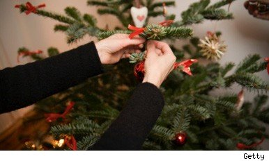 Brits choose fake fir over real Christmas tree