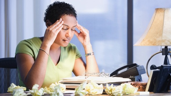 Workplace stress driving Brits to drink and depression