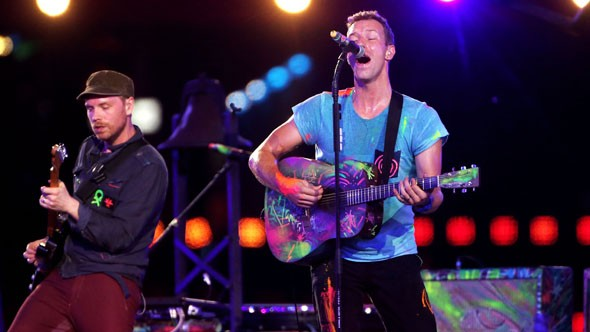 Coldplay album voted best ever