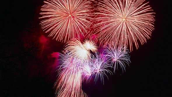 Fireworks displays UK