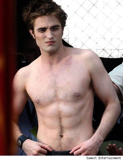 The Twilight Saga: New Moon, Robert Pattinson as Edward Cullen