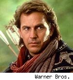 Kevin Costner in 'Robin Hood; Prince of 