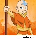 Aang in 'Avatar: The Last Airbender'