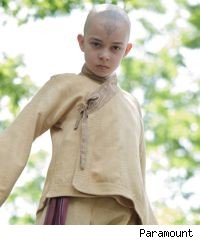 Noah Ringer in 'The Last Airbender'