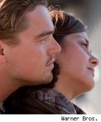 Leonardo DiCaprio and Marion Cotillard in 'Inception'