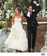 VIDEO  The Bachelors Jason Mesnick and Molly Malaneys Wedding  Wonder what Melissa Rycroft is Thinking