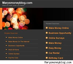 mary's money blog
