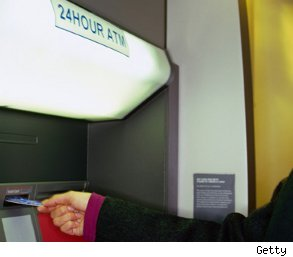 Hand Stuck in ATM