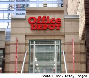 Office Depot executive fired