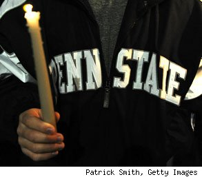 Penn State candlelight vigil sexual abuse