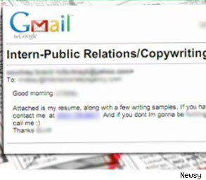 worst cover letter of all time