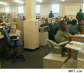 New York DMV call center employees inmates