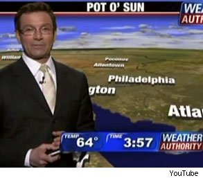 John Bolaris suspended weatherman Playboy