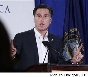 Mitt Romney questioned by Republicans GOP