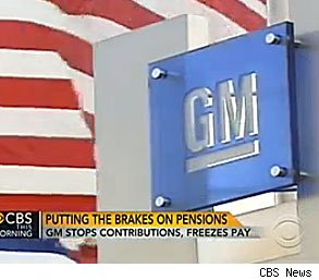 GM pension 401k