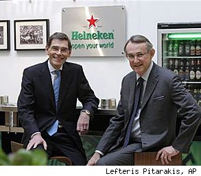 Heineken earnings fall cutting employees