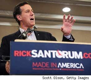 Rick Santorum Americans college Congress