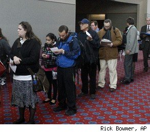job fair unemployment numbers