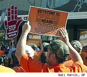 Keystone XL pipeline jobs union