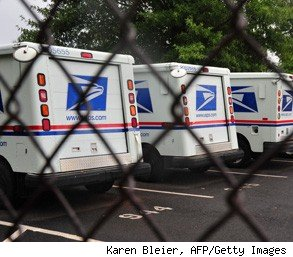 postal worker USPS fired at gun