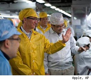 Tim Cook Apple factory wages