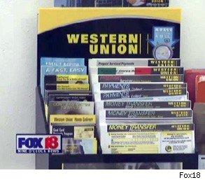 grocery clerk Western Union scam