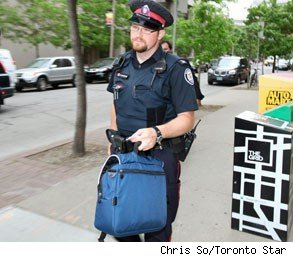 toronto rookie cop arrests officer