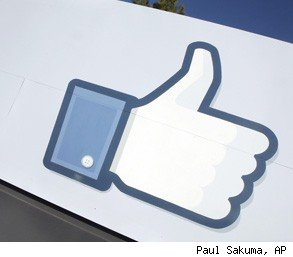Facebook Like button judge