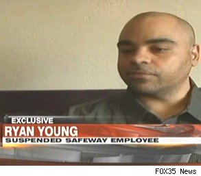 Ryan Young Safeway pregnant woman