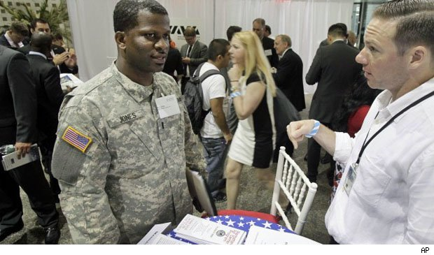 job seeking veterans need to be prepared