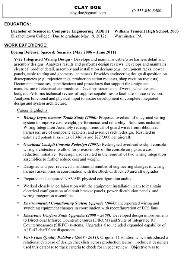 Personal Interests On A Resume