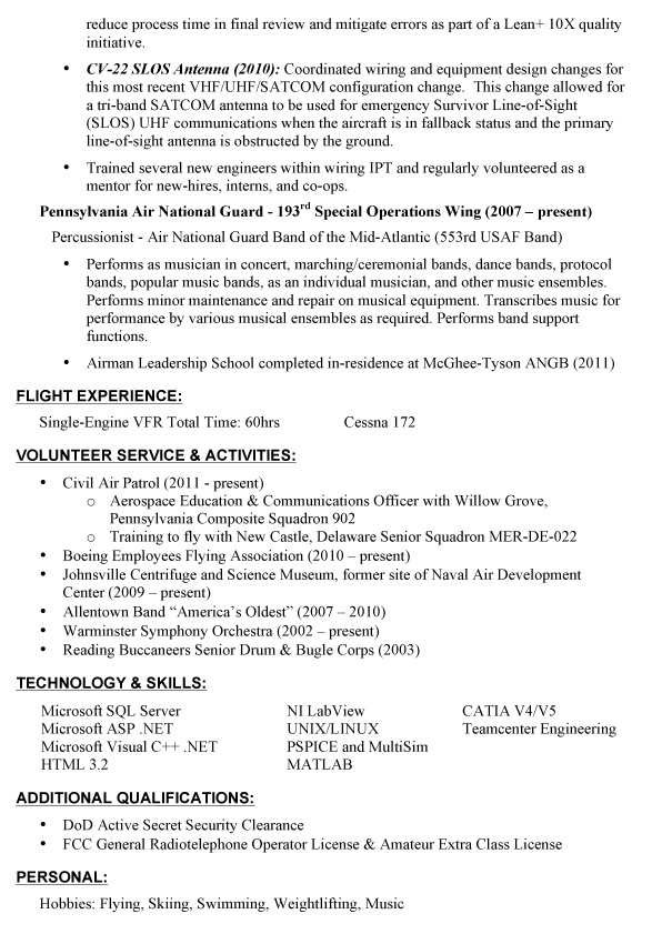 veteran resume makeover how to convey a professional image