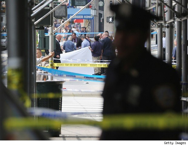 worker stress Empire State Building shooting