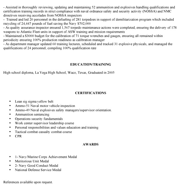 veteran resume makeover  how to adapt the resume to the