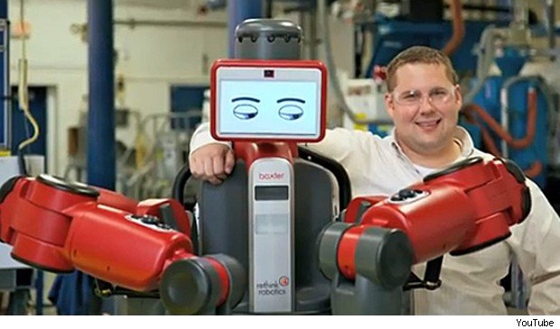 humanoid robots as co-workers Rethink Robotics