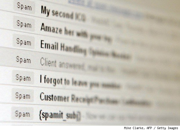 email tips spam
