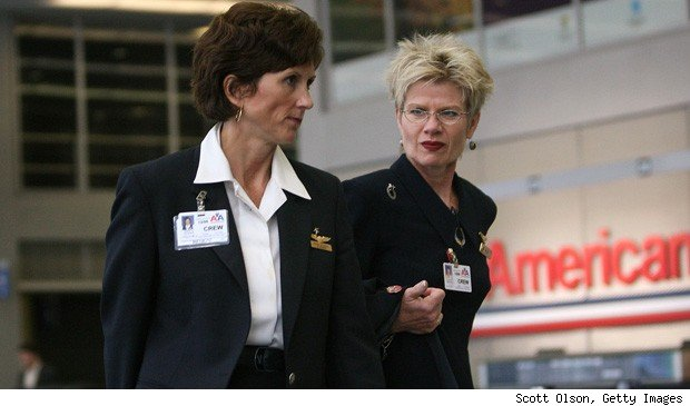 American Airlines hiring flight attendants bankrupt