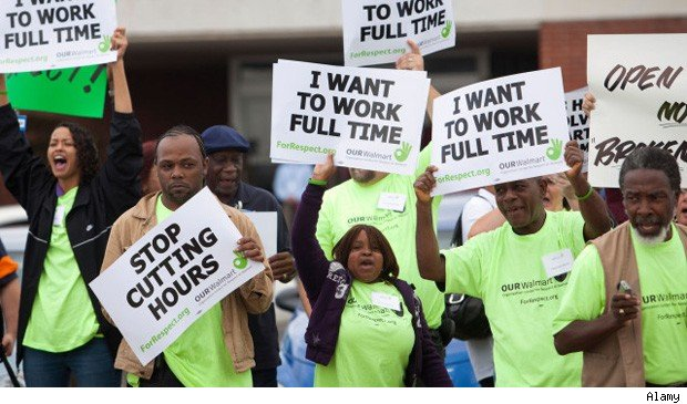 Walmart workers strike