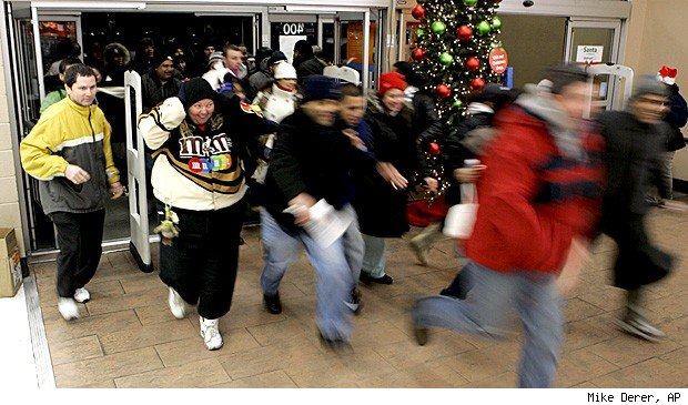 Black Friday retail workers