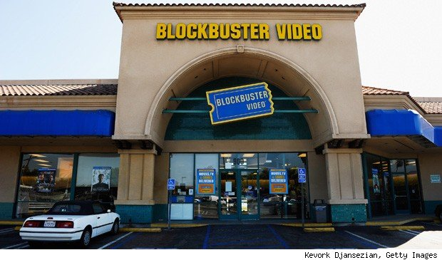 Blockbuster closing stores