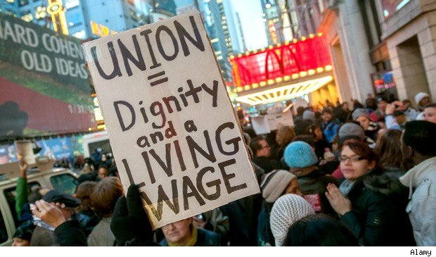 declining union membership