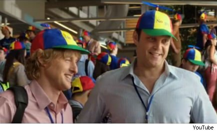 best-paying internships: Owen Wilson, Vince Vaughn at Google