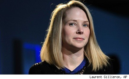 Marissa Mayer Yahoo work from home