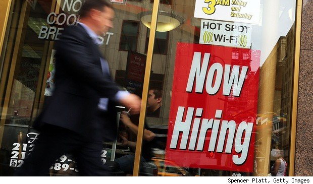 January jobs report: now hiring sign