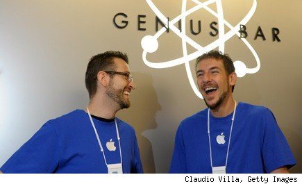 Apple Genius Bar customer service