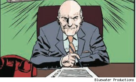 Jack Welch comic book